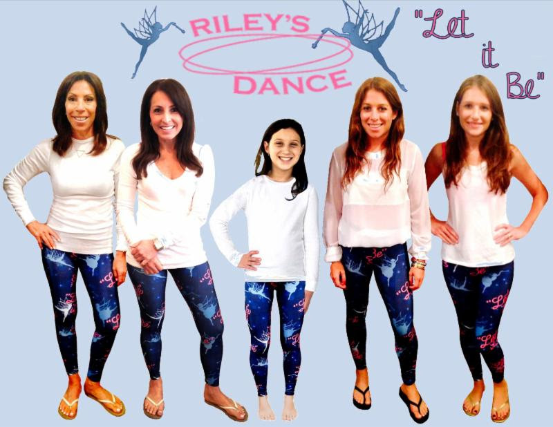 Sale of leggings benefit Riley s Dance