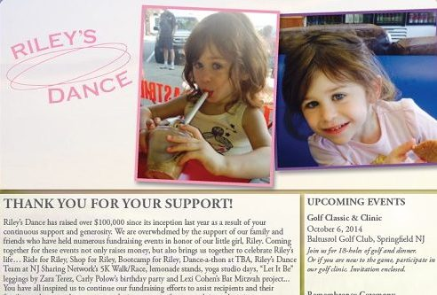Rileys Dance Newsletter