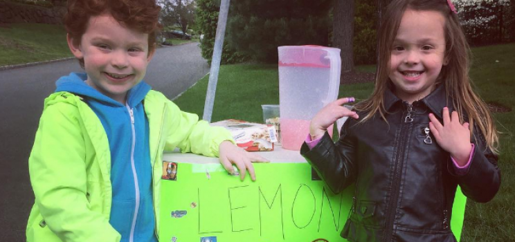 Lemonade for Riley!